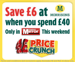 morrisons sunday mirror deal